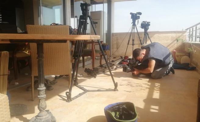 Nusaybin'da saldırı sonrası gazeteciler tahliye edildi