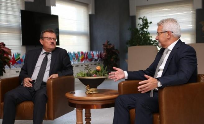 Rektör Kılavuz'dan Nilüfer'e iade-i ziyaret