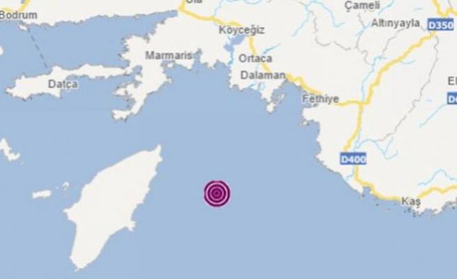 Yunanistan'da 5.3 büyüklüğünde deprem
