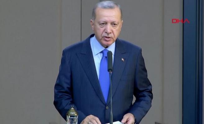 """Cumhurbaşkanı Erdoğan: """"Terörle mücadele öncelikli konumuz"""""""
