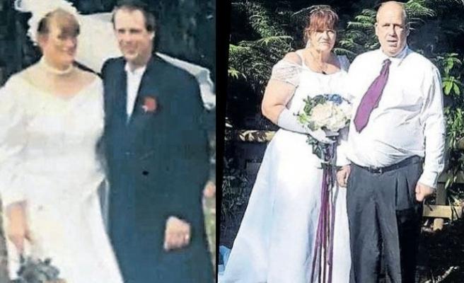 Hafızasını kaybeden eşini yeniden kendine aşık edip evlendi