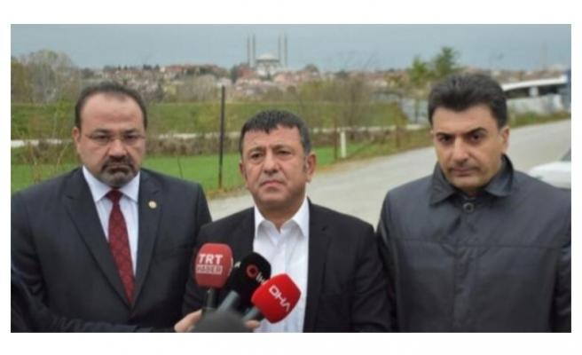 CHP heyetinden Demirtaş'a ziyaret