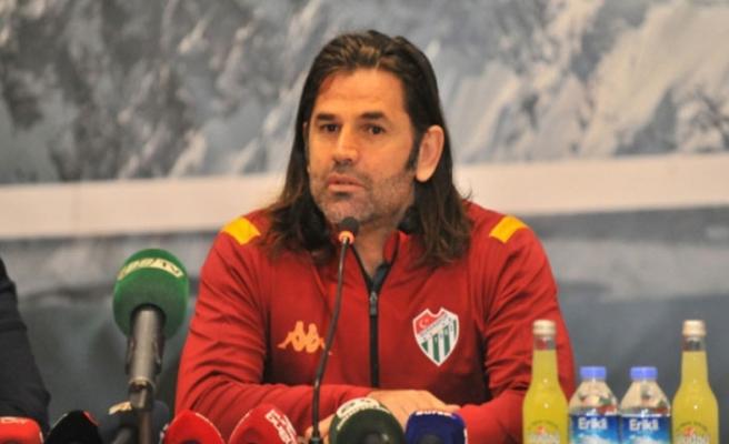Bursaspor Teknik Direktörü Üzülmez'den Sekidika açıklaması