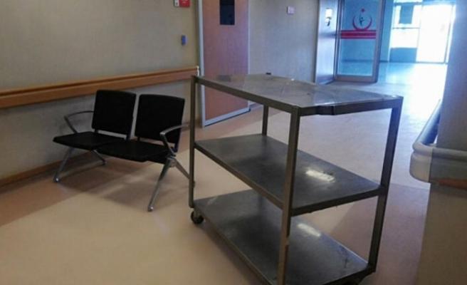 Devlet hastanesinde 'Domuz gribi' alarmı! Acildeki kırmızı alan kapatıldı…