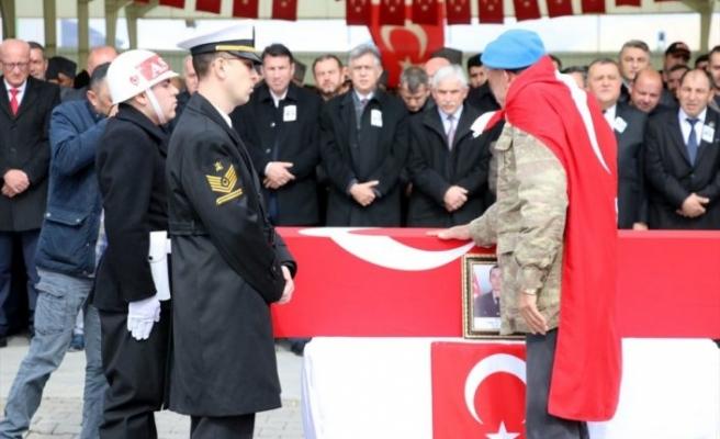 Bursa'nın şehidi Uzman Çavuş Yılmaz son yolculuğuna uğurlandı