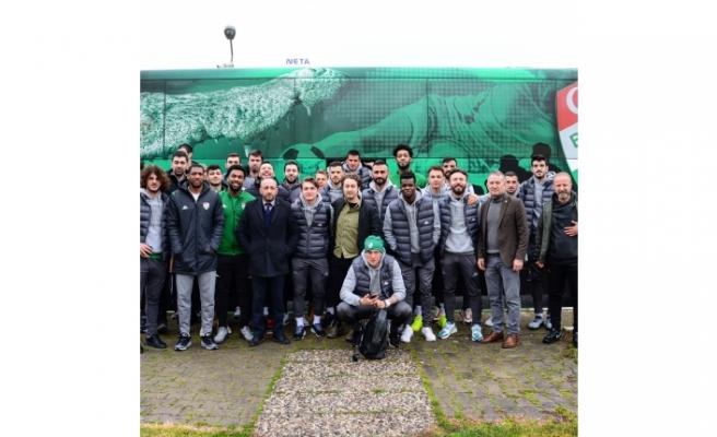 Bursaspor'un maç kadrosu belli oldu