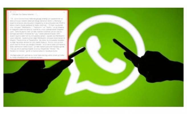 WhatsApp'taki bilgi kirliliği önlenemiyor! O mesaja dikkat