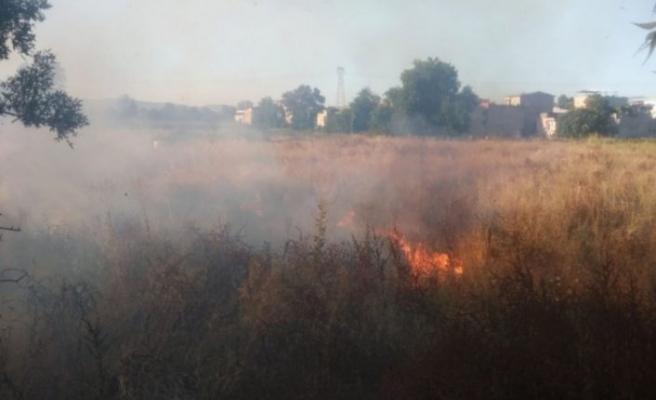 Bursa Paşaçiftliği'nde korkutan yangın