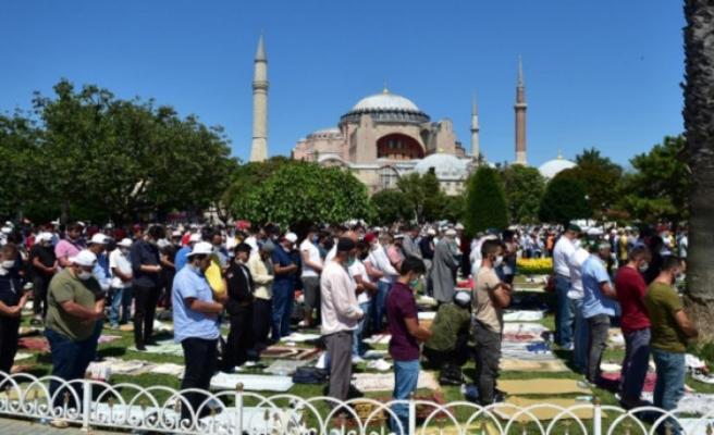Erbaş'tan dini liderlere Ayasofya mektubu