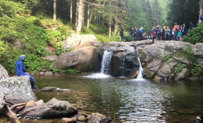 Uludağ'da, su ihtiyacına, 'Gölet' yapımıyla çözüm