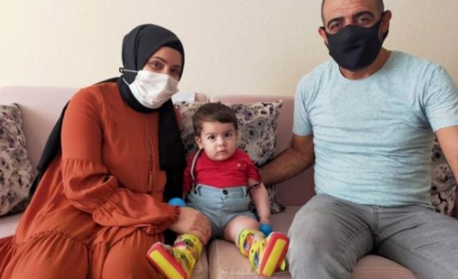 Bursa'da Ali Osman bebeğin ailesinden yardım çağrısı