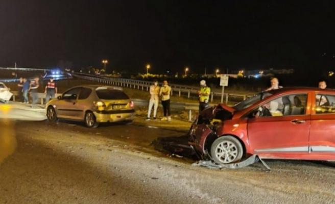 Bursa'da 3 ayrı kazada 10 kişi yaralandı!