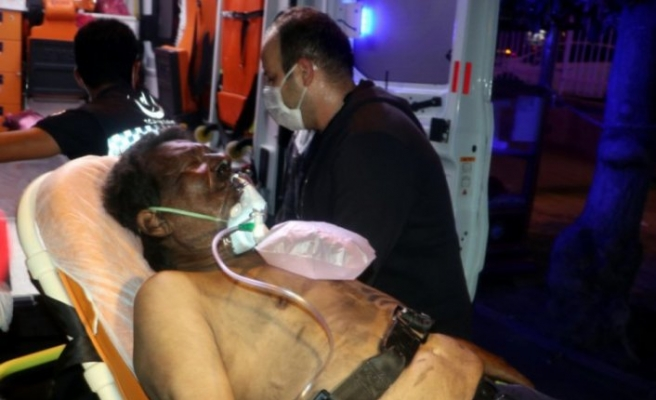 Hastanede yangın çıkaran psikiyatri hastası öldü!