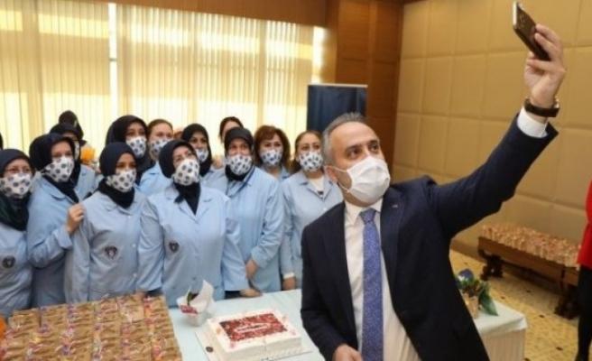Bursa Büyükşehir Belediye'sinde kadınlar günü