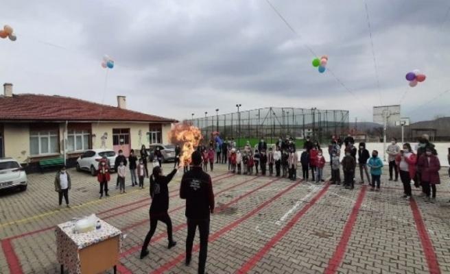Bursa'da bilim her yerde