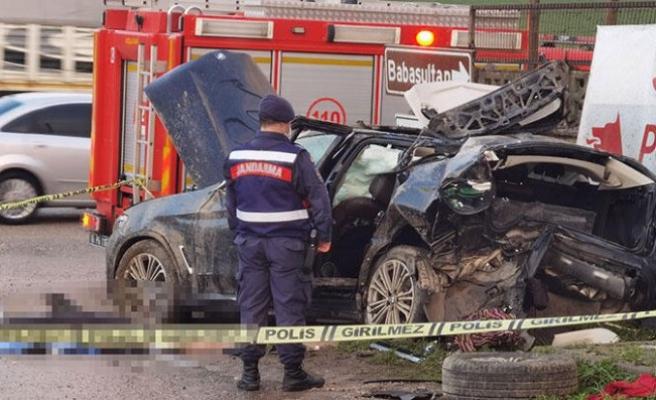 Bursa'da kazada ölen iş insanının cenazesi memleketine gönderildi