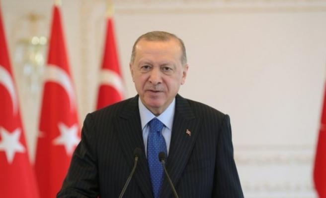 Cumhurbaşkanı Erdoğan'dan Çanakkale Zaferi mesajı