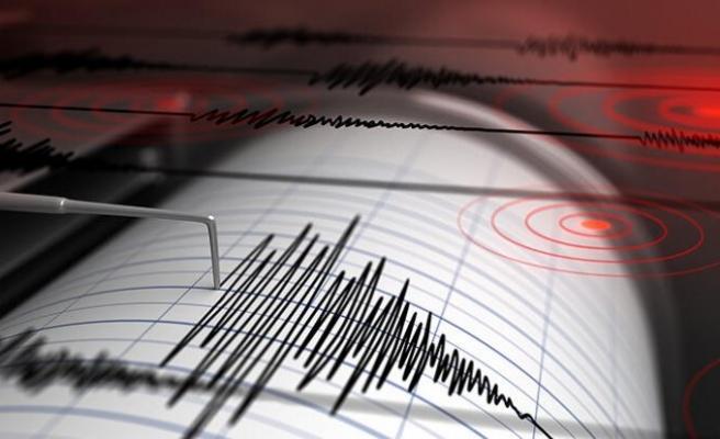 Erzincan'da panik yaratan deprem