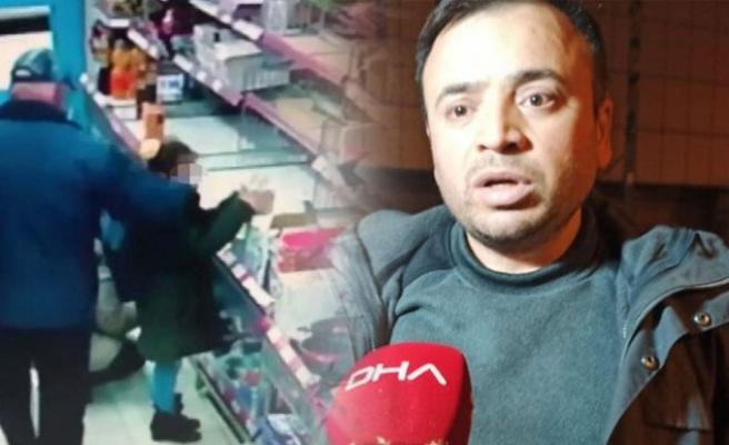 Mide bulandıran olay! Torunu yaşındaki kıza markette taciz