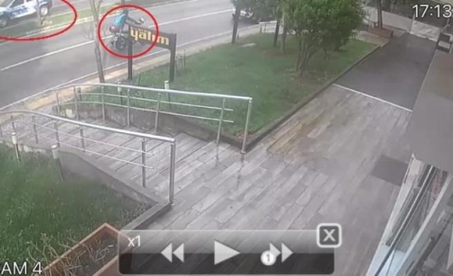 Bursa'da motosiklet çalan hırsızın pişkinliği pes dedirtti