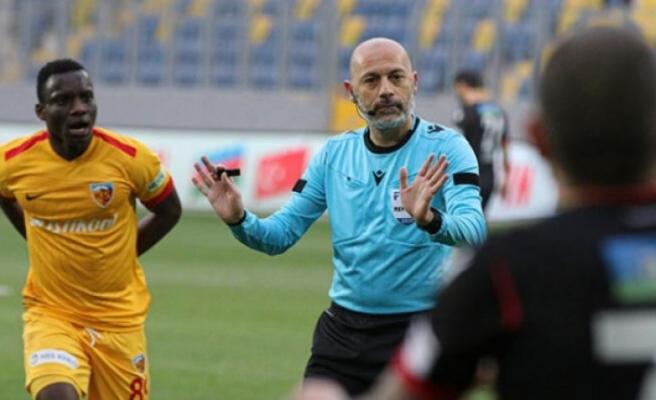 Cüneyt Çakır 3. kez Beşiktaş-Kayserispor maçı yönetecek