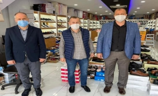 Bursa İznik'te Başkan Usta'dan esnafa kira müjdesi!