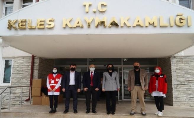 Türk Kızılay Bursa'dan Keles'e yardım eli