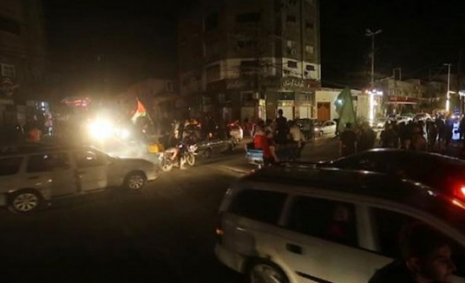 Gazze Şeridi'nde ateşkes sevinci