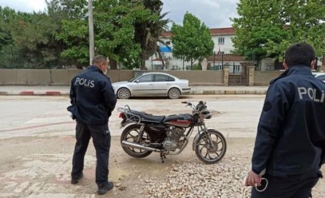 Bursa'da polisi şaşırtan olay!