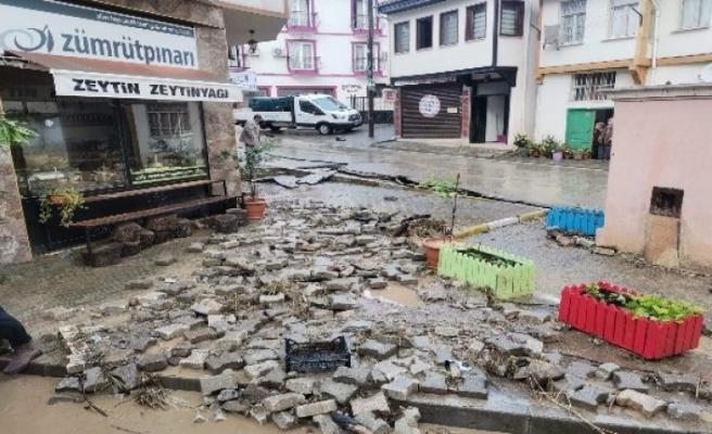 Bursa'nın Gemlik ve Mudanya ilçesi sele teslim