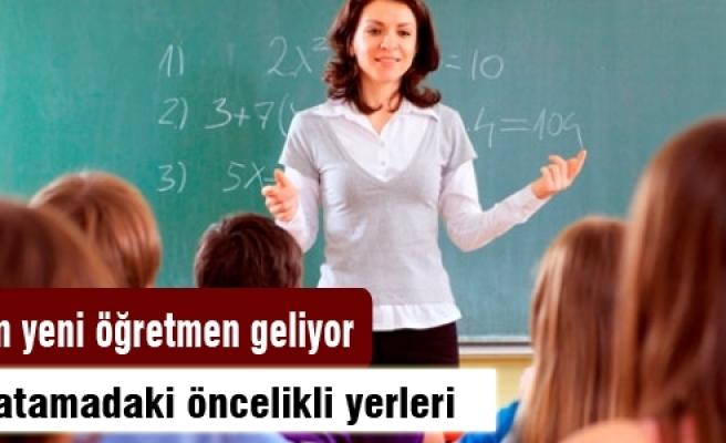 40 bin yeni öğretmen geliyor