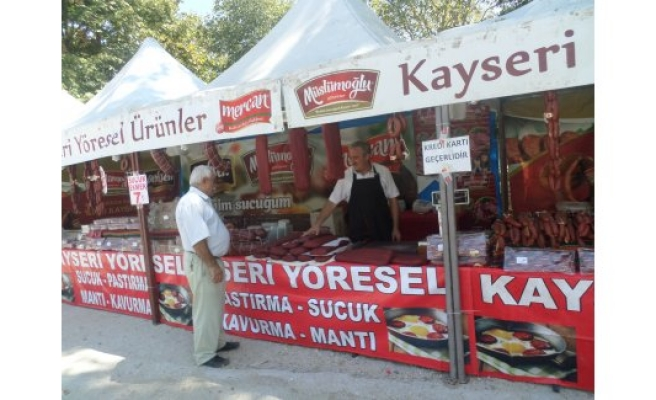 52 ilin lezzetleri Mudanya'ya taşındı