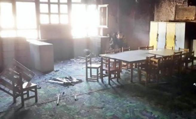 5 okula molotoflu saldırı!