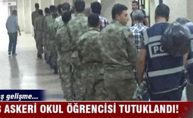 68 askeri okul öğrencisi tutuklandı!