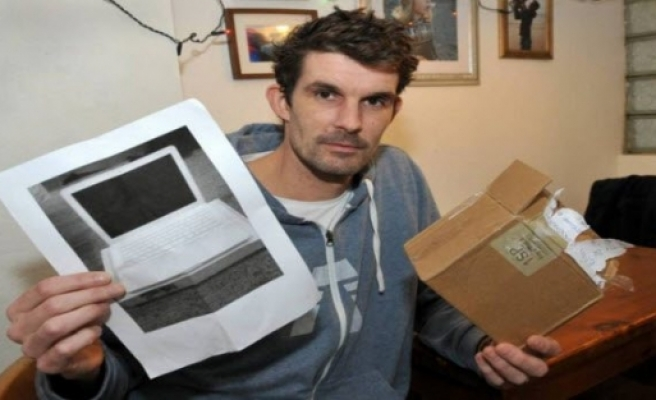 700 lira verdi kutudan sadece fotokopi çıktı