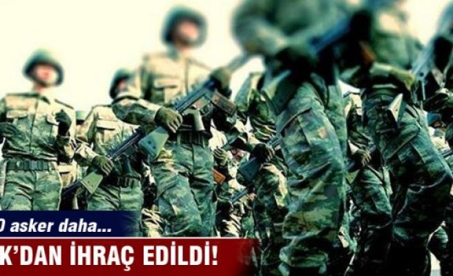 820 askeri personelin daha orduyla ilişiği kesildi