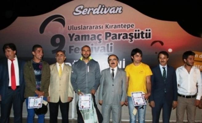 9'uncu Uluslararası Kırantepe Yamaç Paraşütü Ödül Töreni Gerçekleşti