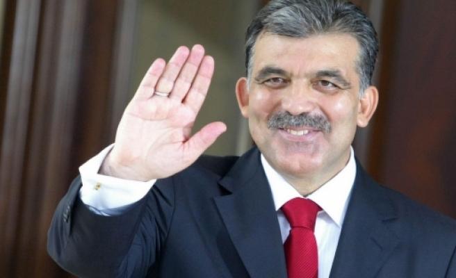 Abdullah Gül'ün ilk veda mesajı