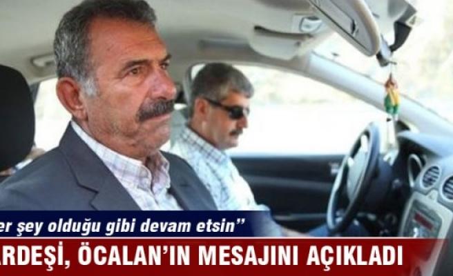 Abdullah Öcalan'ı ziyaret eden Mehmet Öcalan'dan açıklama