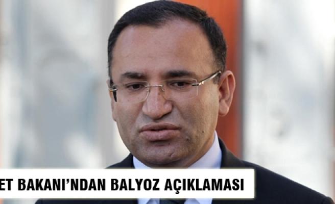 Adalet Bakanı'ndan Balyoz açıklaması