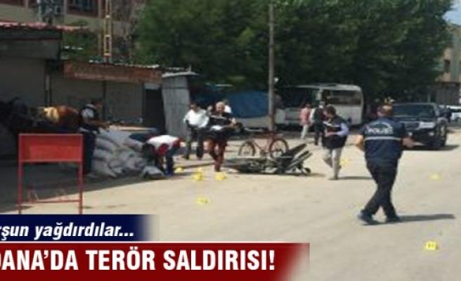 Adana'da terör saldırısı