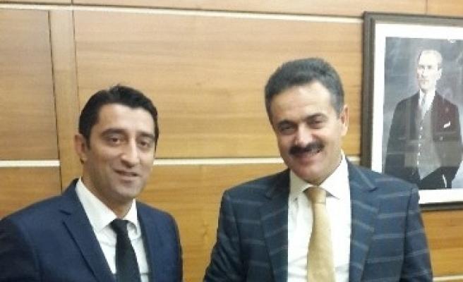 Ak Parti Devrek İlçe Başkanı Kelebek'ten Soylu Ve İpek'e Ziyaret