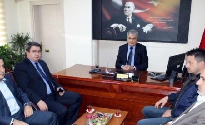 Ak Parti İlçe Teşkilatından Kaymakam  Erguvan'a Ziyaret