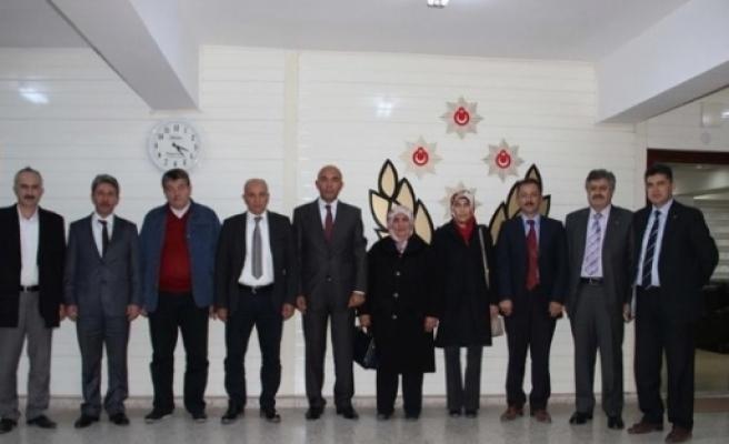 Ak Parti'den Şahne'ye Teşekkür Ziyareti