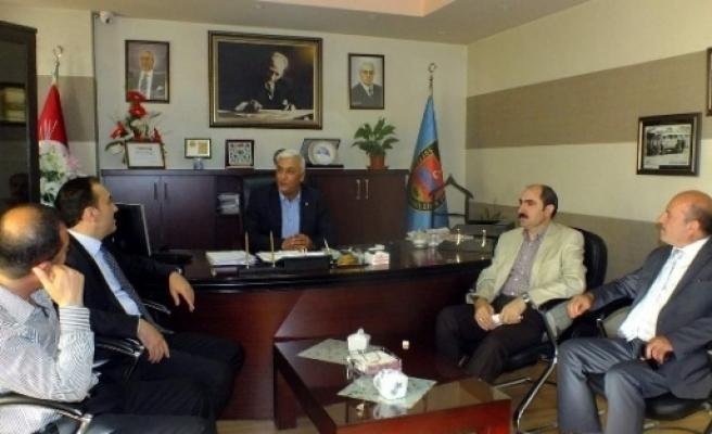 Ak Partili Bilici'den Şoförler Odası'na Ziyaret