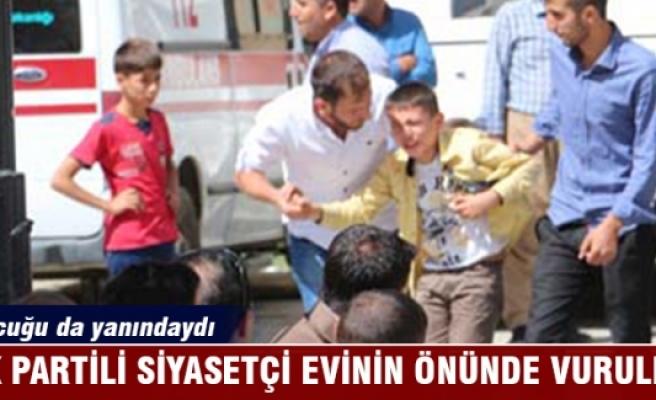 AK Partili siyasetçi vuruldu!