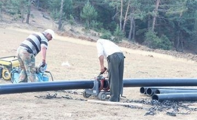 Akdağmadeni Belediyesi İçme Suyu Kaynaklarını Artırıyor