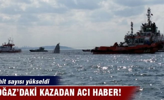 Alabora olan Sahil Güvenlik botundaki şehit sayısı 4'e yükseldi