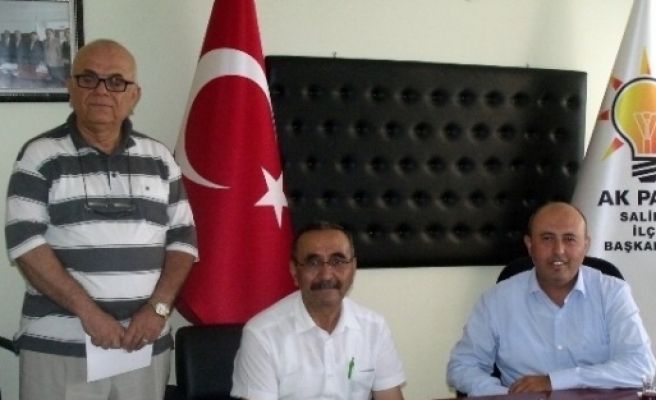 Alevi Kültür Derneği'nden Ak Parti'ye Ziyaret