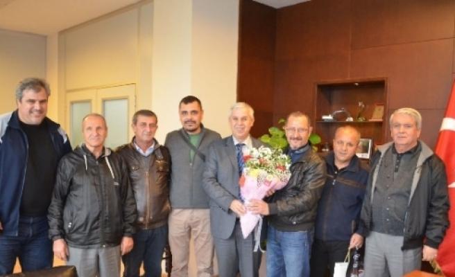 Amatör Futbol Kulüplerinden Başkan Süleyman Toyran'a Teşekkür
